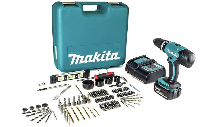 Buy Makita LXT 3Ah Cordless Combi Drill 101 Accessories - 18V | Drills |  Argos