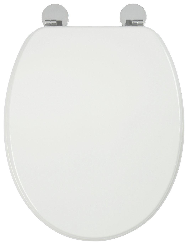 Croydex Kielder Flexi-Fix Toilet Seat - White