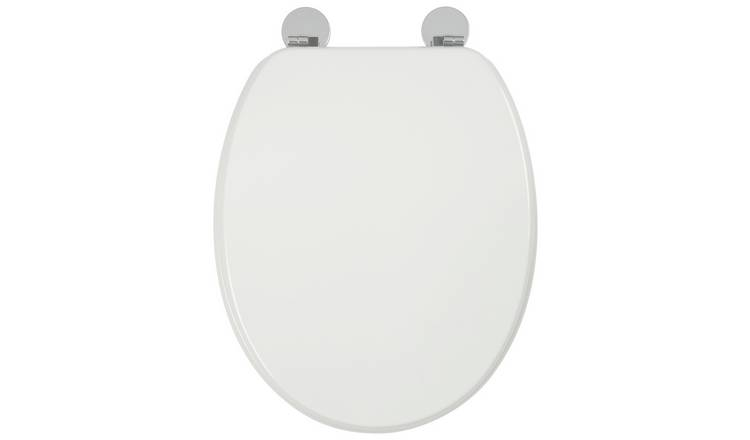 Buy Croydex Kielder Flexi Fix Toilet Seat White Toilet
