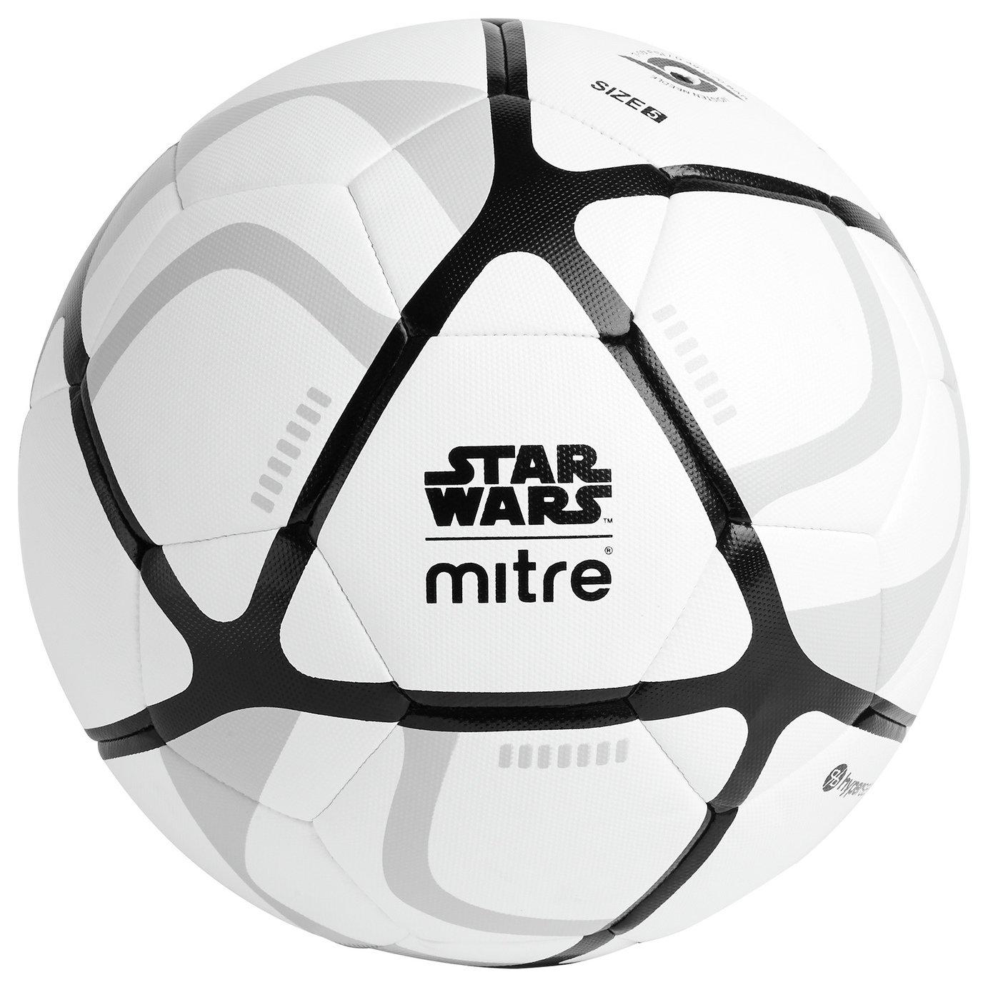 Mitre Star Wars Stormtrooper Football - White