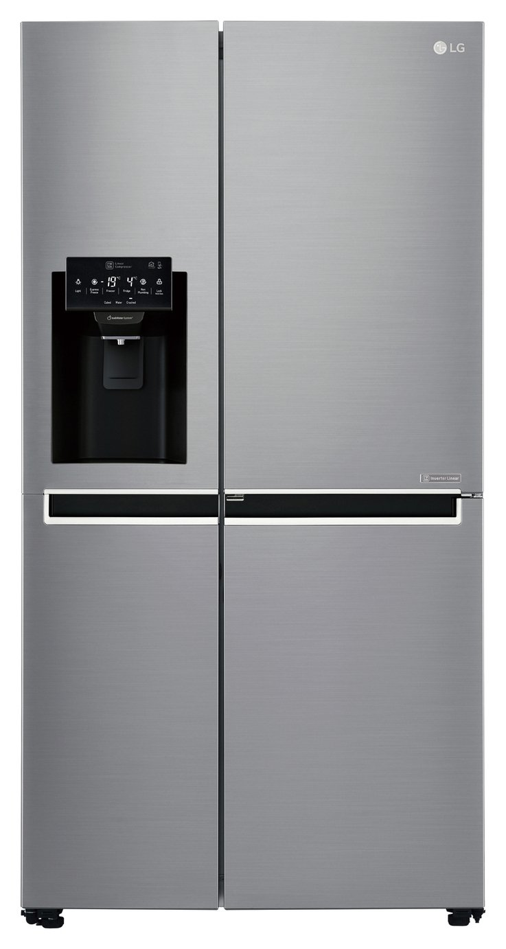 LG GSJ761PZXV American Style Fridge Freezer -Stainless Steel