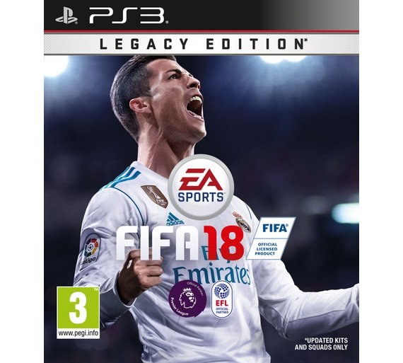 buy fifa 18 ps3 game ps3 games argos