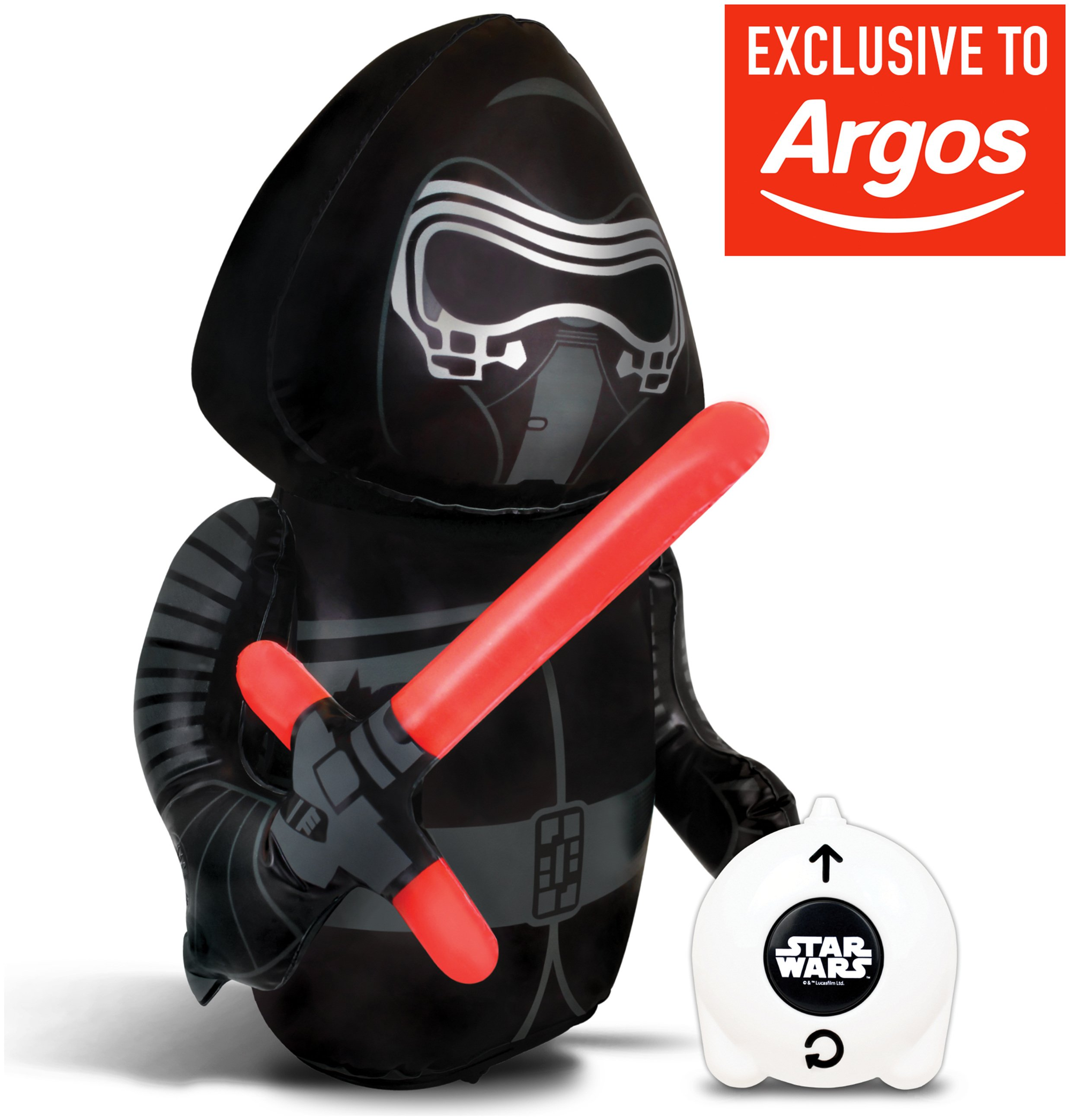 Image of Star Wars Radio Controlled Kylo Ren Inflatable with Sounds