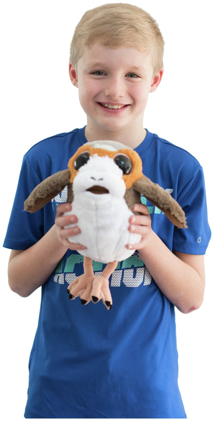 Image of Disney Star Wars Porg Soft Toy