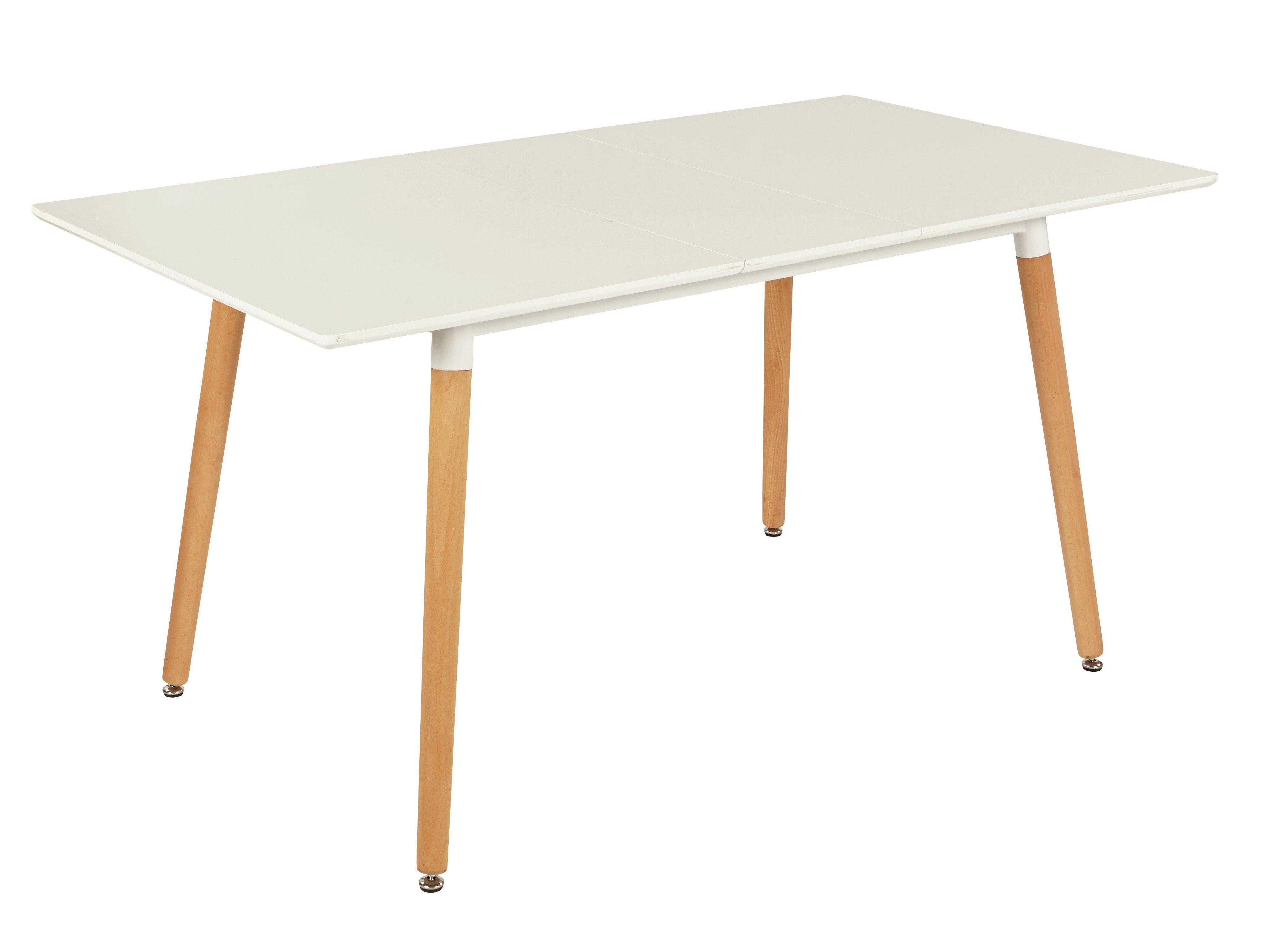 Argos Home Charlie Extending 4-6 Seater Dining Table -White