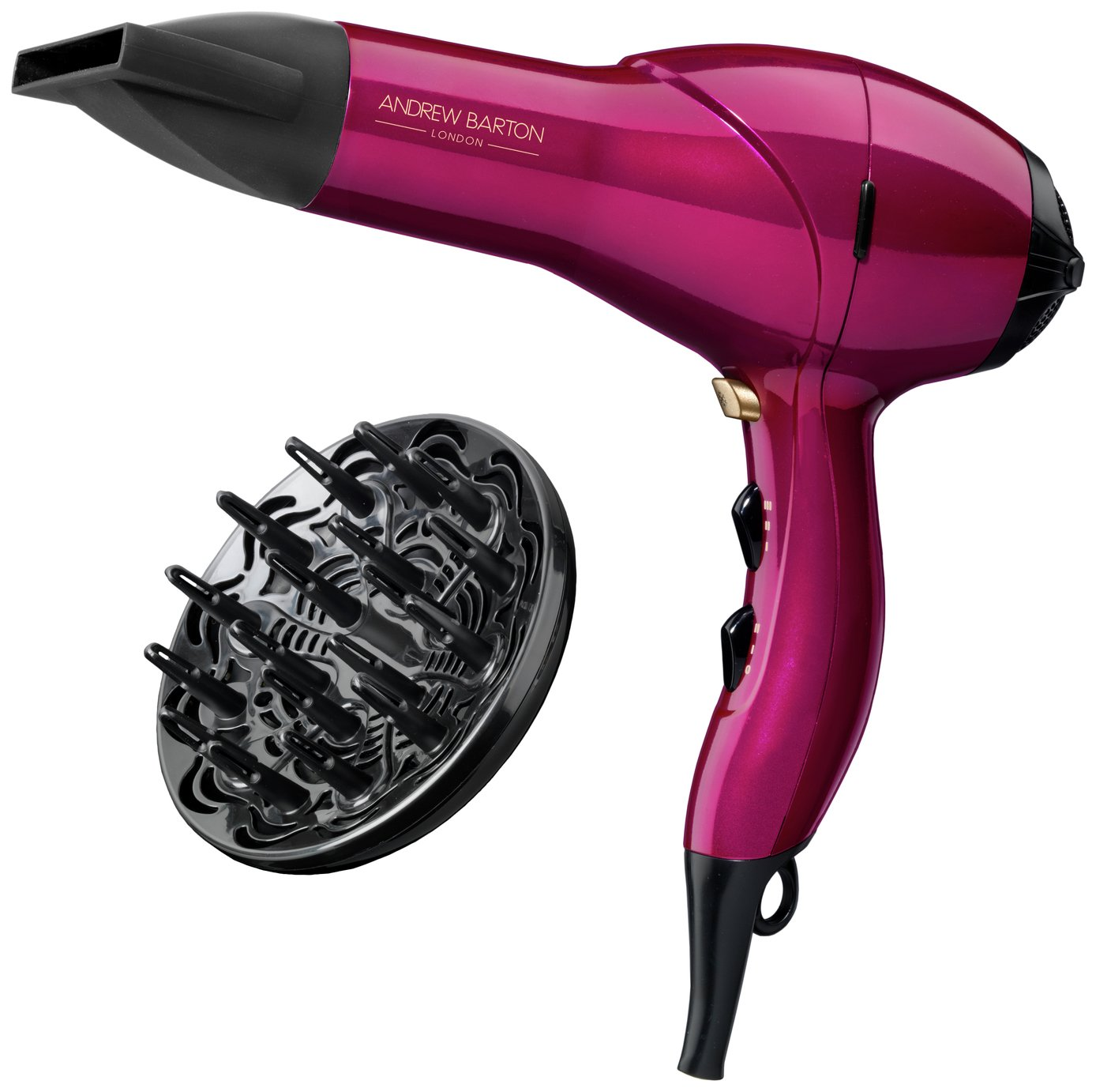 Andrew Barton Hair Dryer with Diffuser
