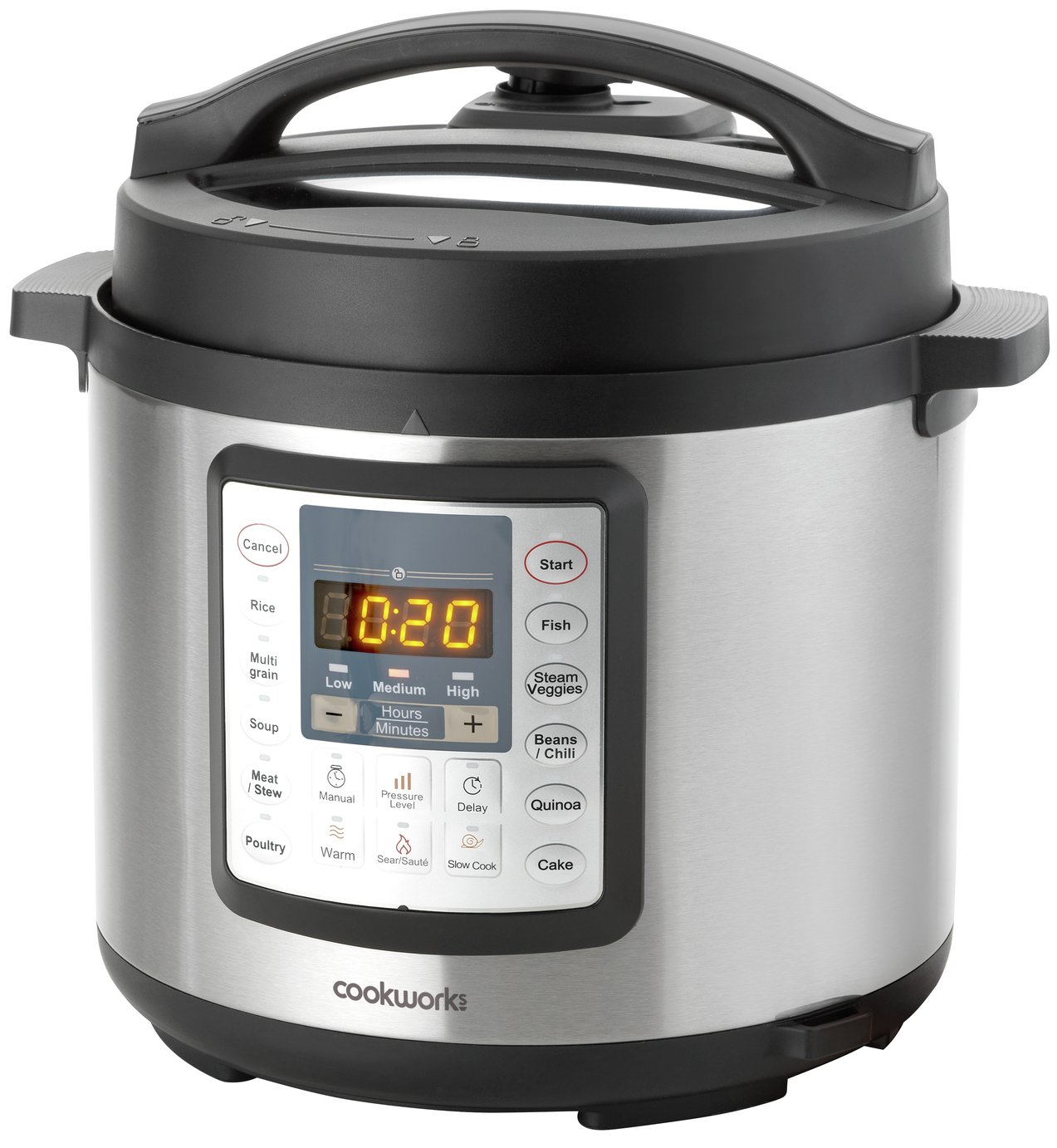 Best Digital Pressure Cooker ~ Sale on cookworks digital pressure cooker