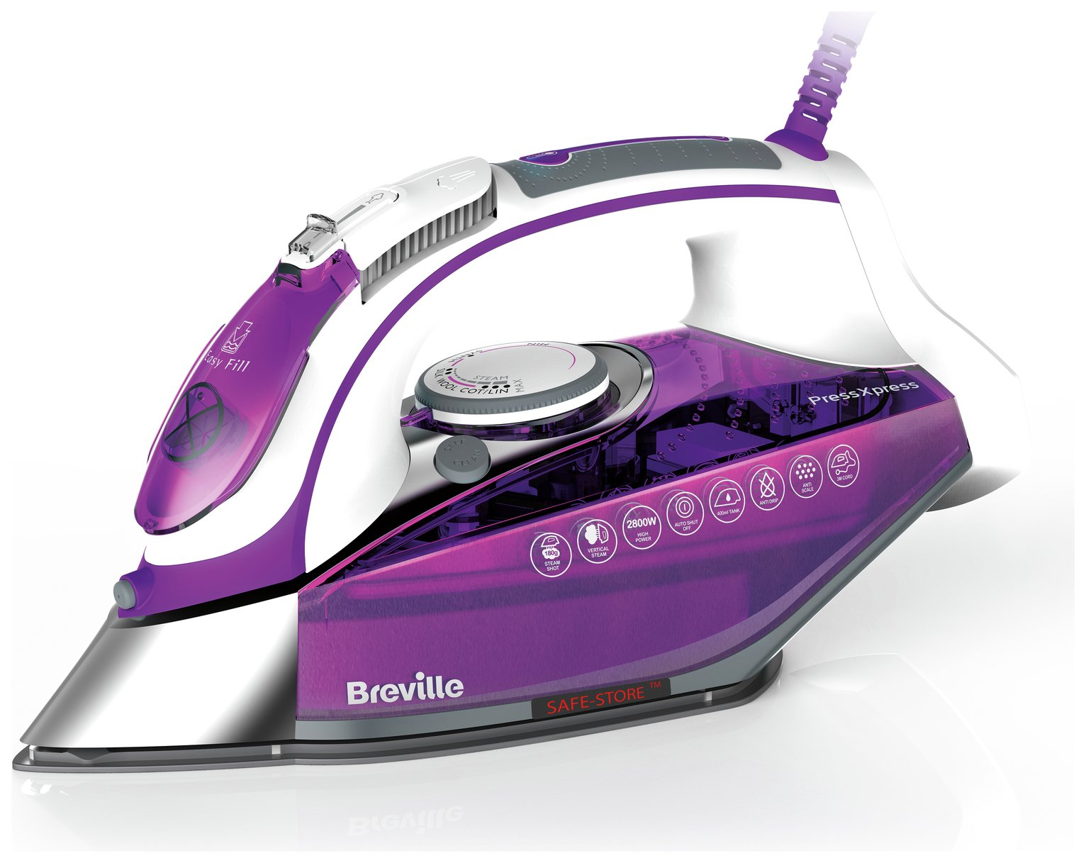 Image of Breville VIN339 PressXpress Steam Iron