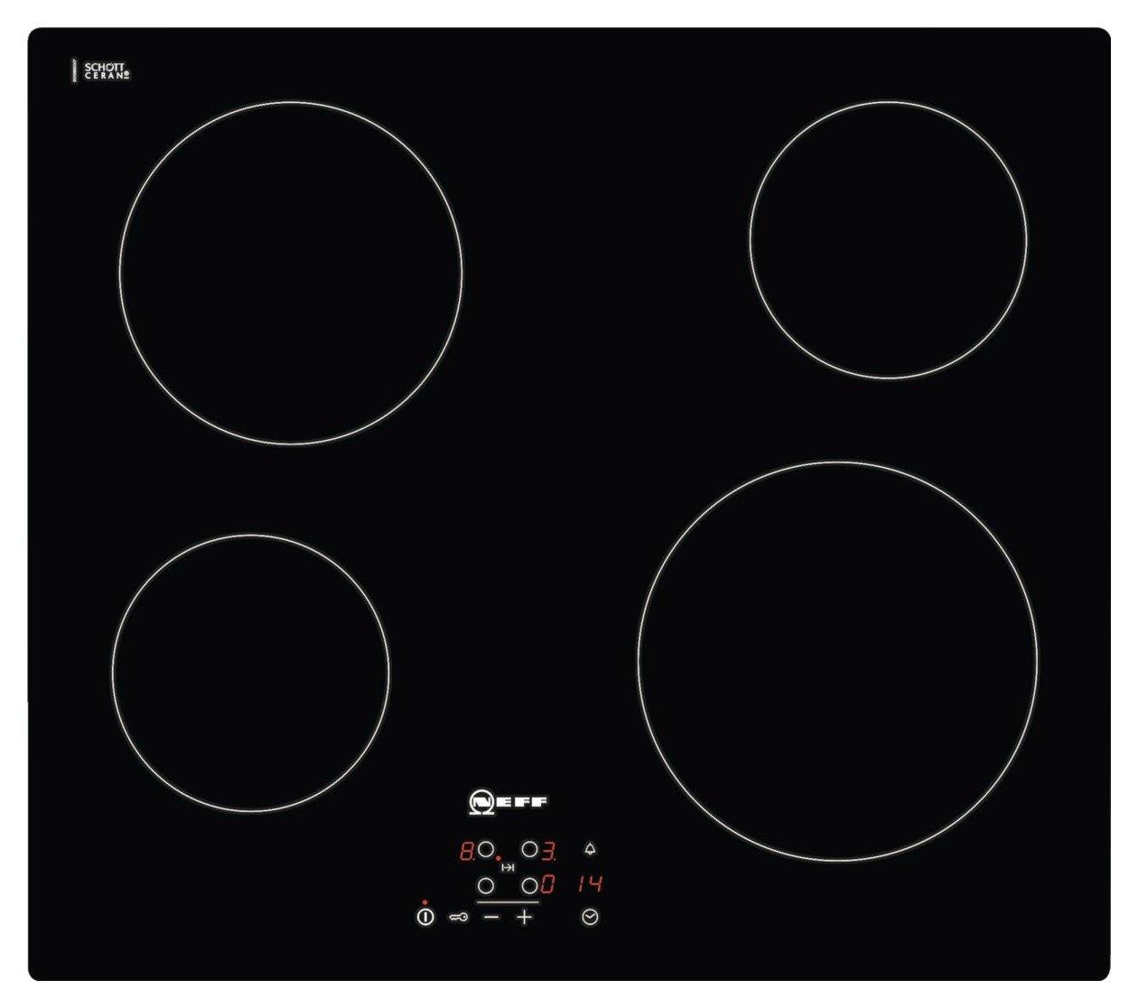 Neff T10B40X2 Electric Ceramic Hob - Black