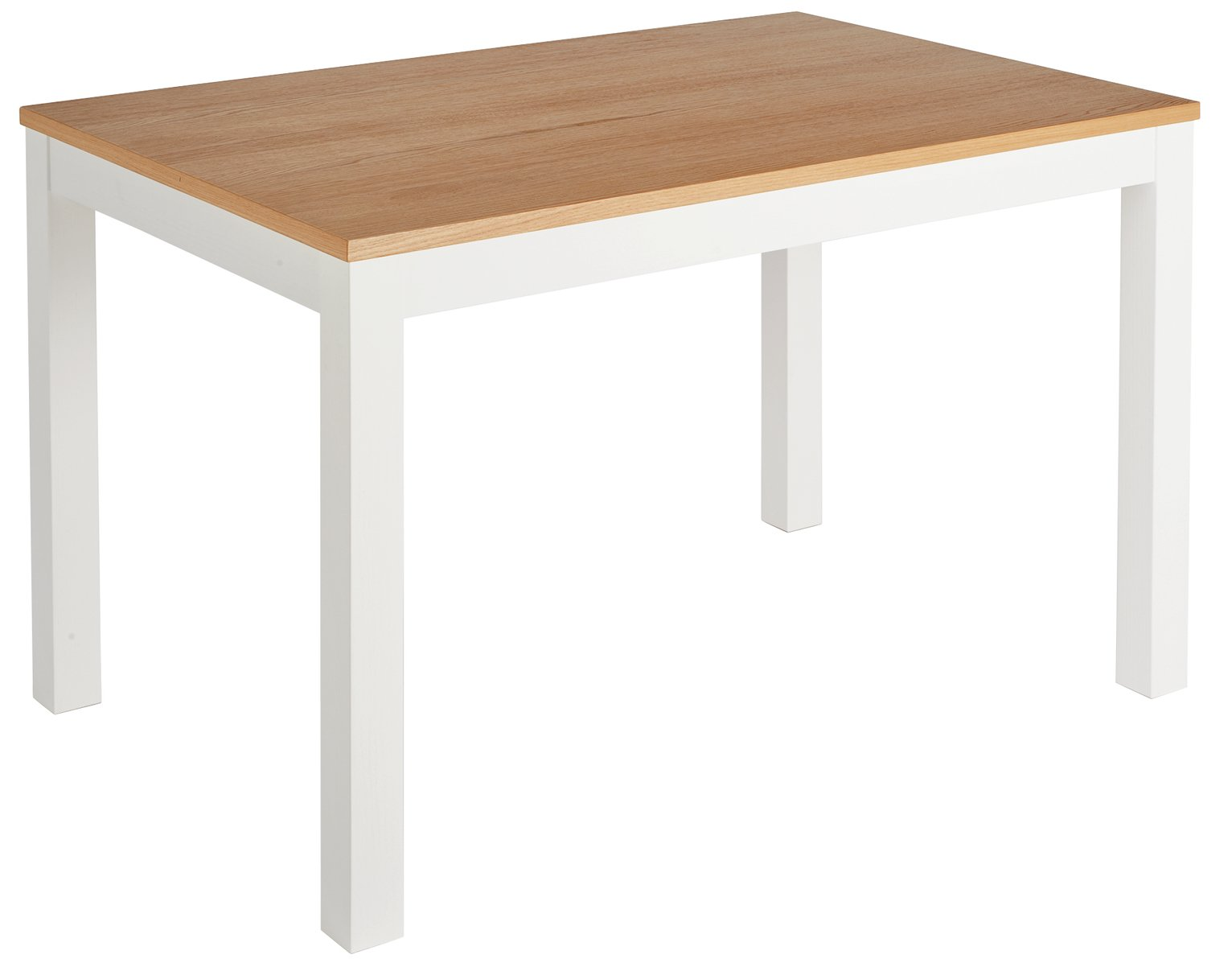 Collection clifton oak veneer 4 seater table two octer for 99 normal table