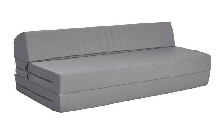 Argos Home Double Chair Bed - Flint Grey