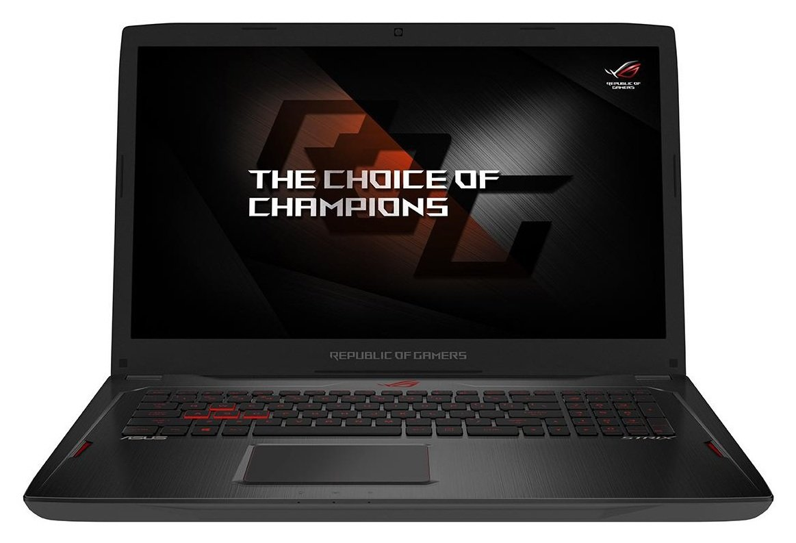 Image of ASUS R5 17.3 In 8GB 256GB 1TB RX580 Gaming Laptop - Black.