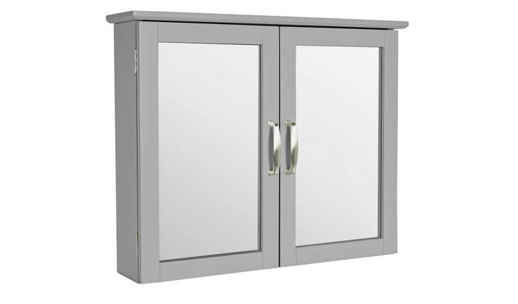 Buy Argos Home New Tongue and Groove Mirrored Wall Cabinet ...