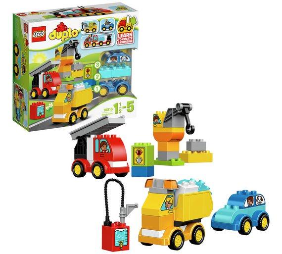 Buy Lego Duplo My First Cars And Trucks 10816 Lego Argos