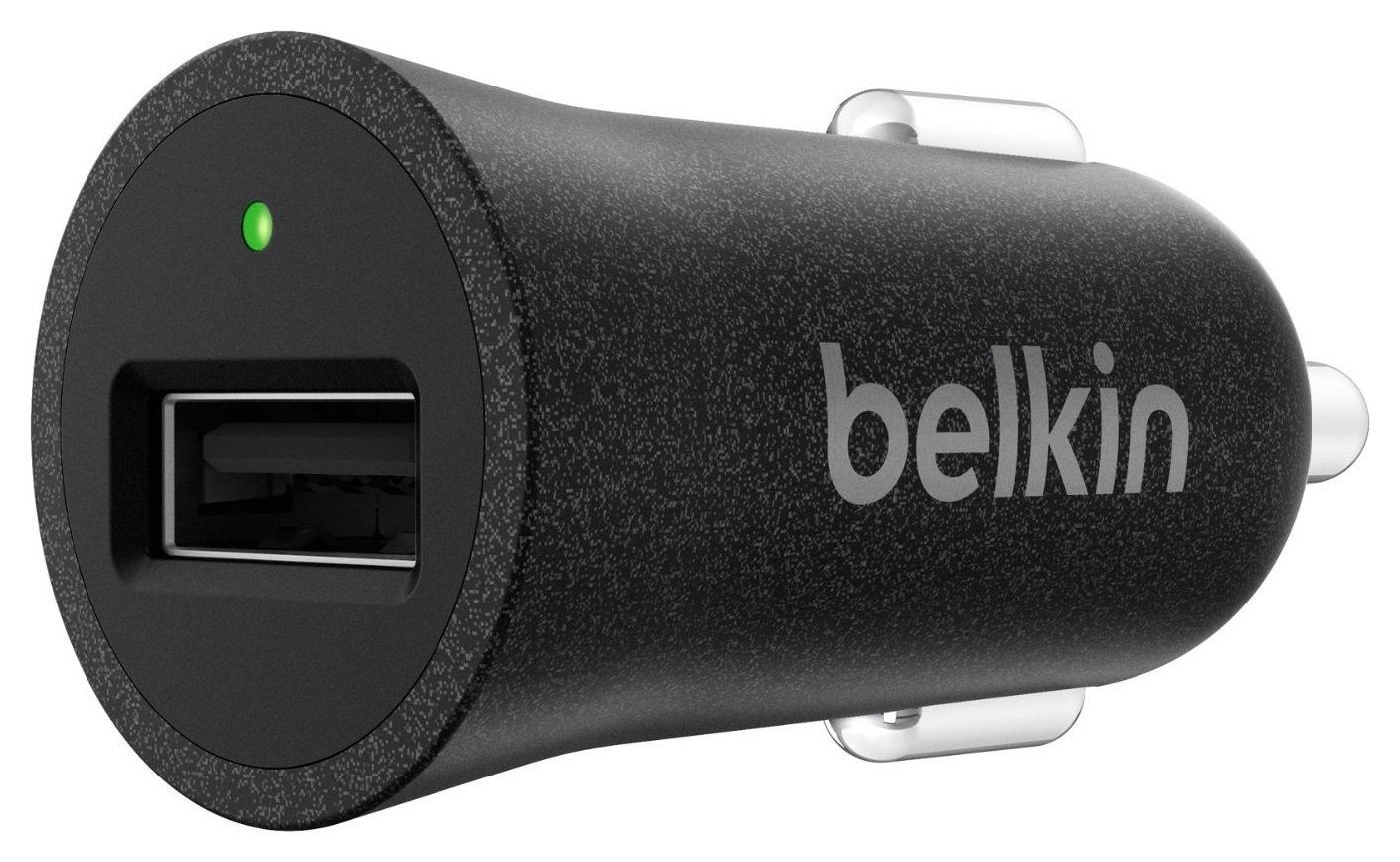 Image of Belkin - MIXIT Metallic USB Car Charger - Black