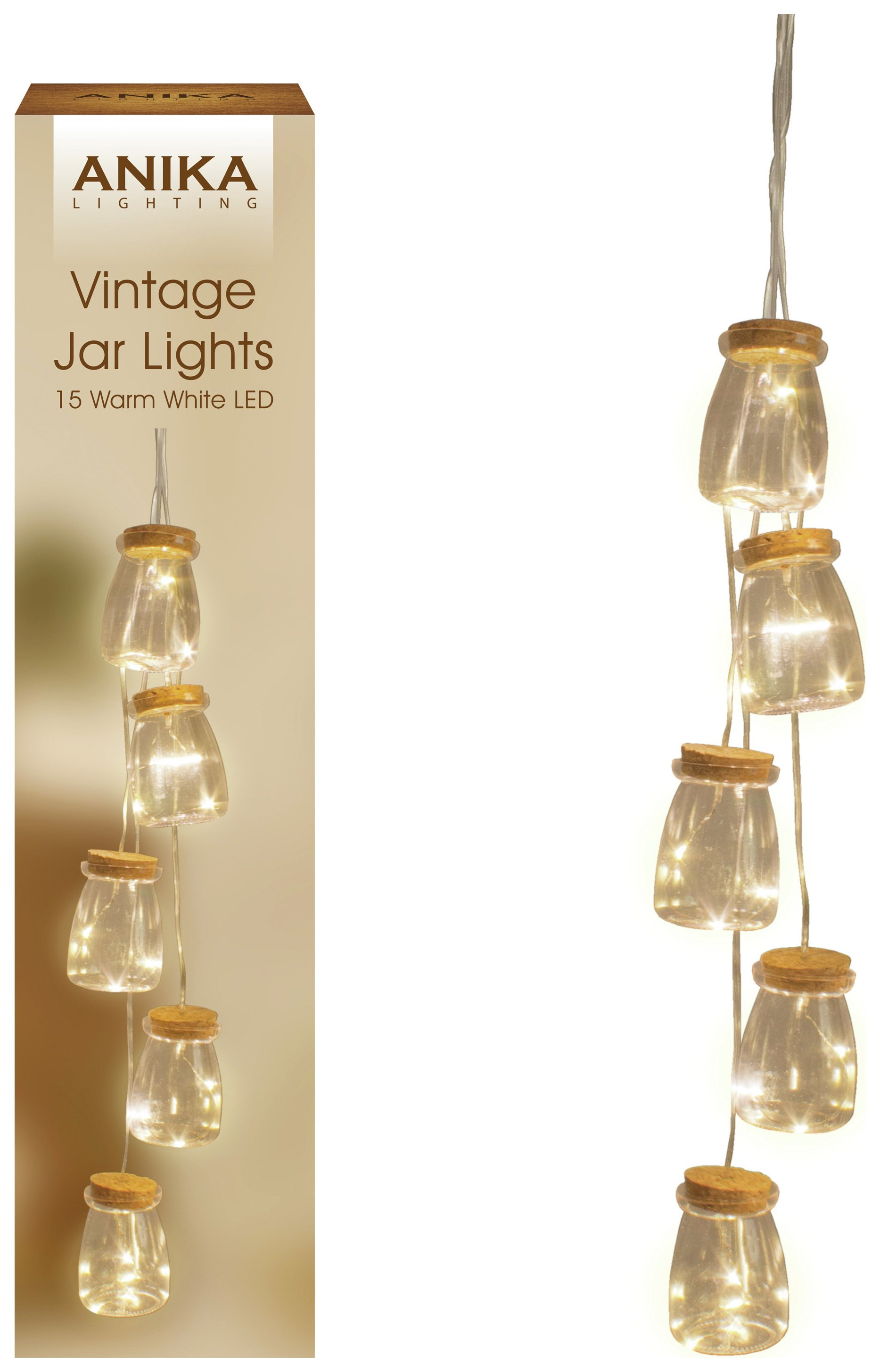 Image of Anika 5 Mini Bottle String Lights