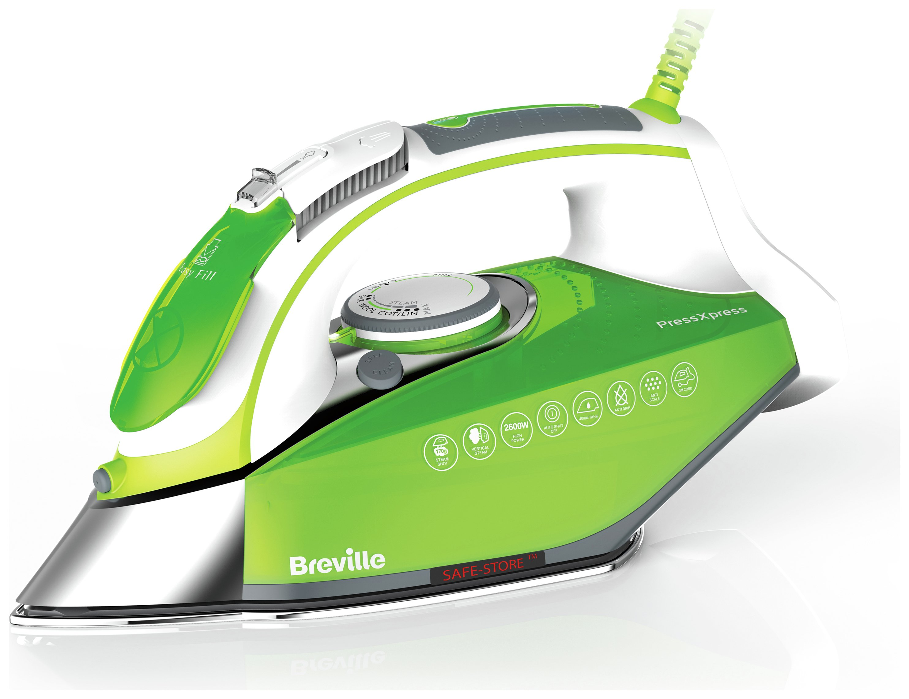 Image of Breville VIN338 PressXpress Steam Iron