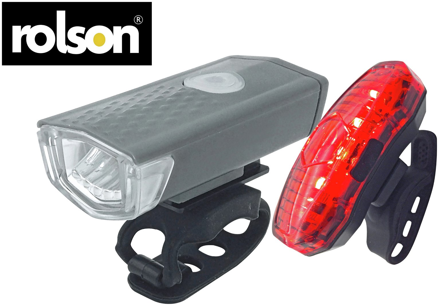 Rolson USB Rechargeable Front and Rear Bike Light Set review