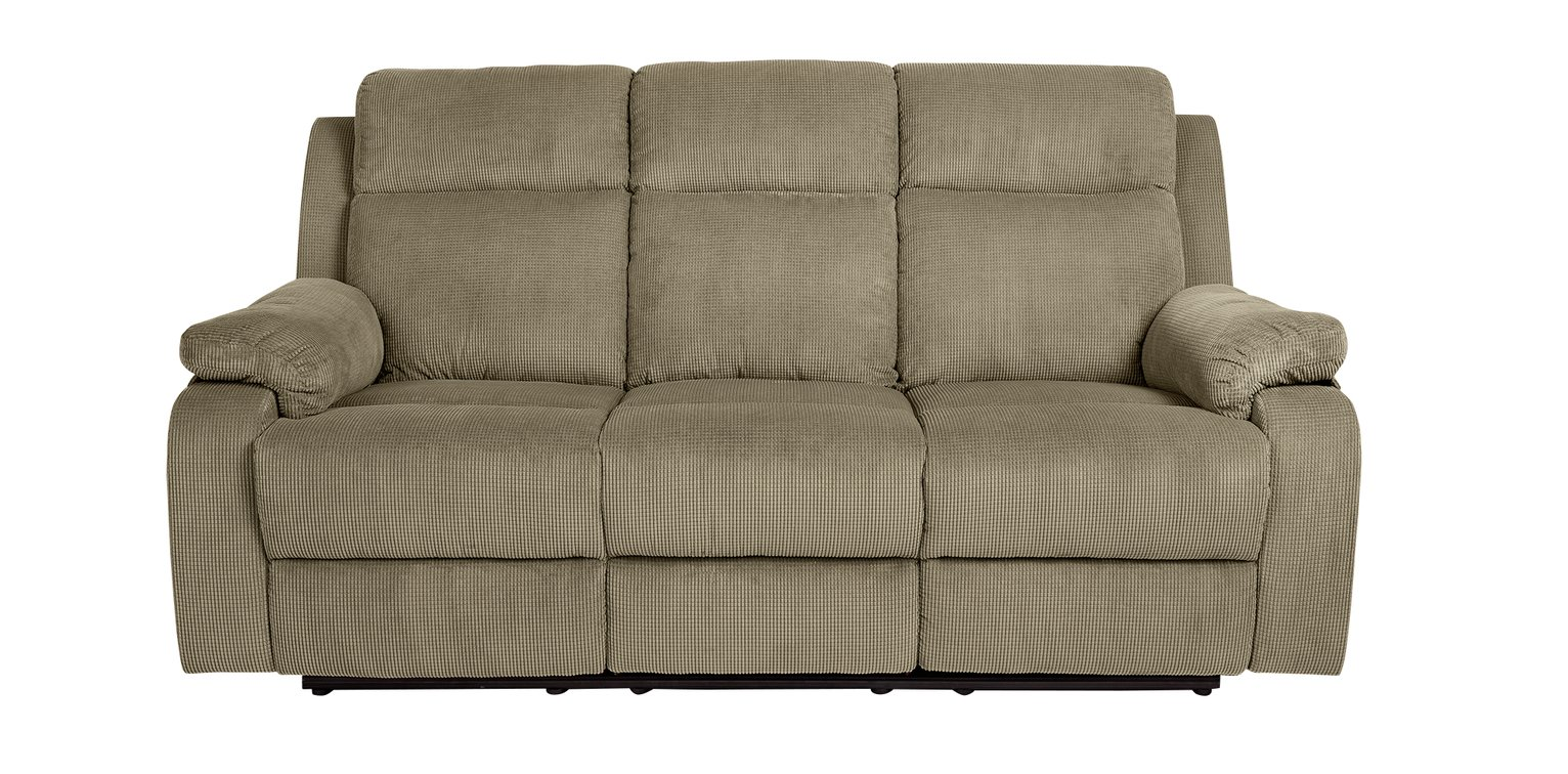 Collection New Bradley 3 Seater Recliner Sofa - Natural  sc 1 st  Argos & Buy Collection New Bradley 3 Seater Recliner Sofa - Natural at ... islam-shia.org