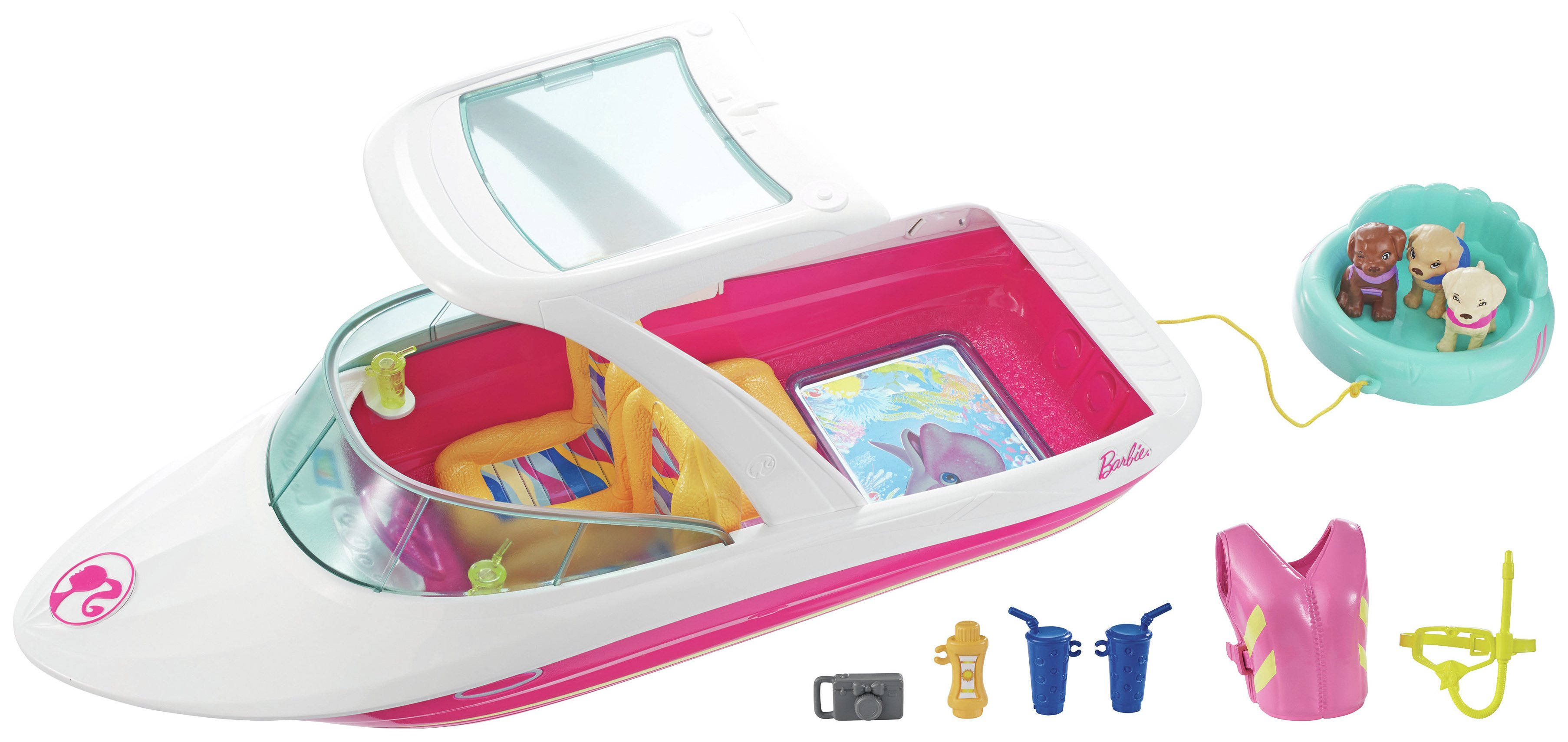 Barbie Dolphin Magic Ocean View Boat.