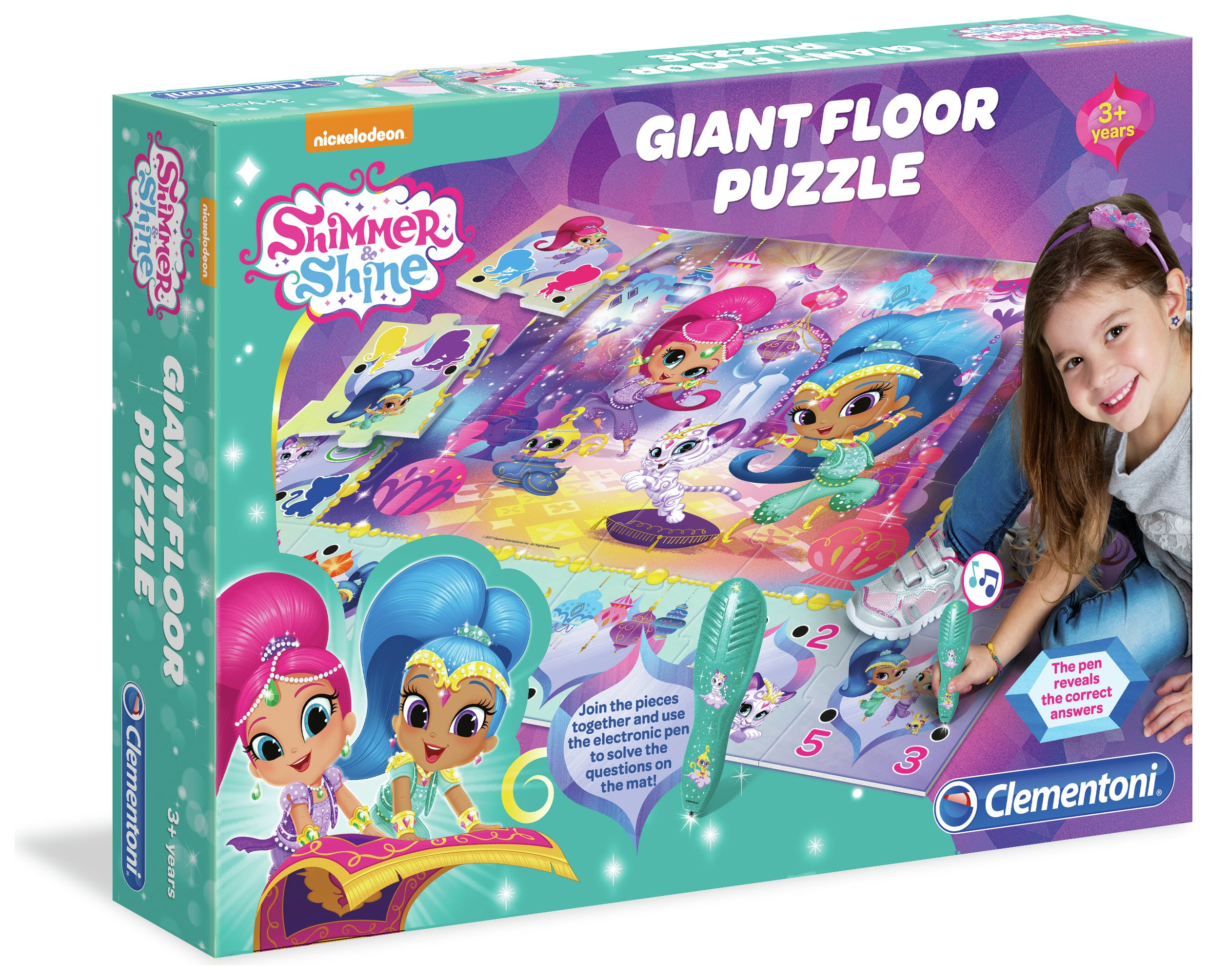 Clementoni Shimmer and Shine Giant Floor Puzzle review