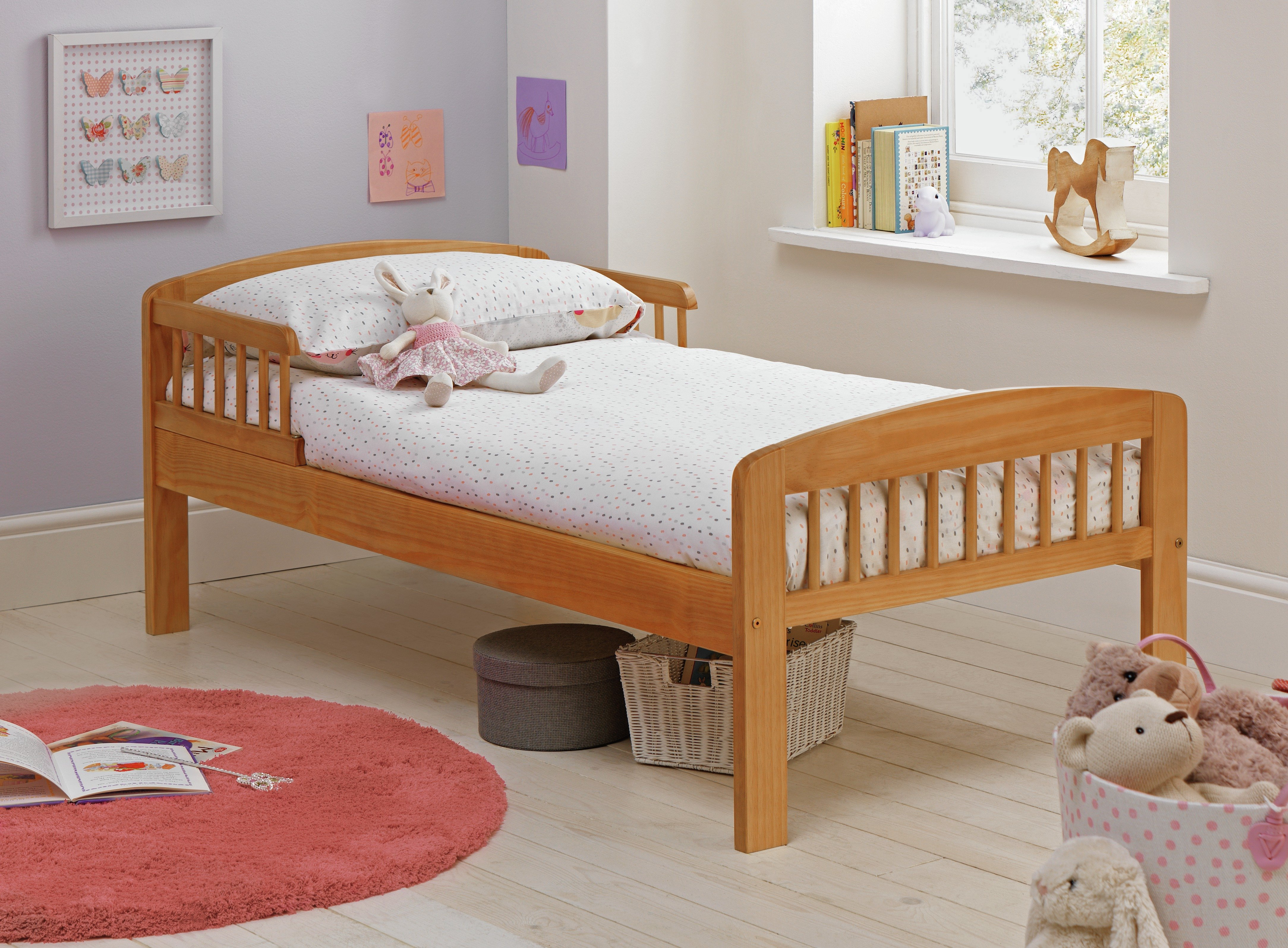 Argos Home Jesse Pine Toddler Bed Frame review