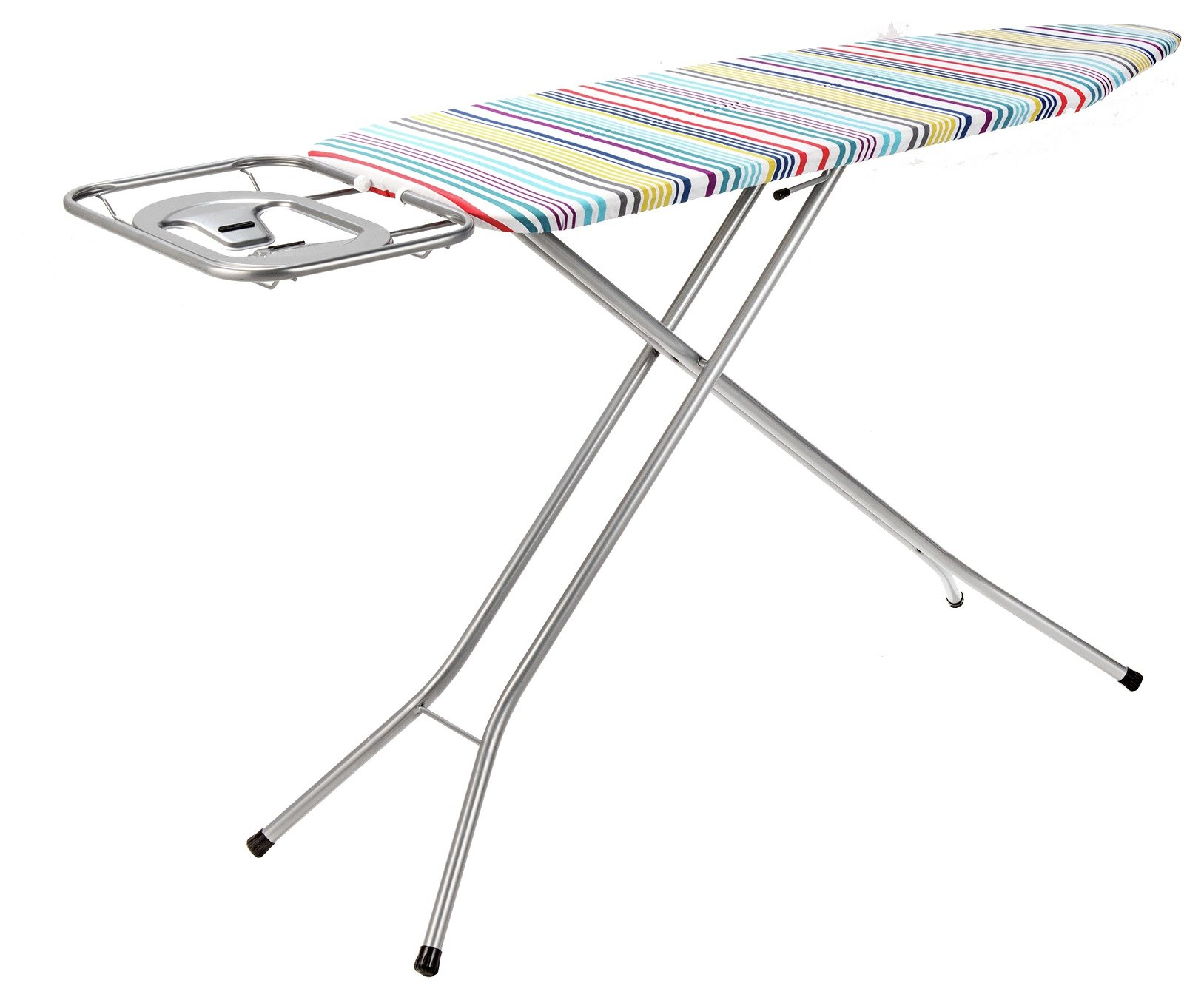 Image of ColourMatch 120 x 38cm Extra Wide Ironing Board - Striped