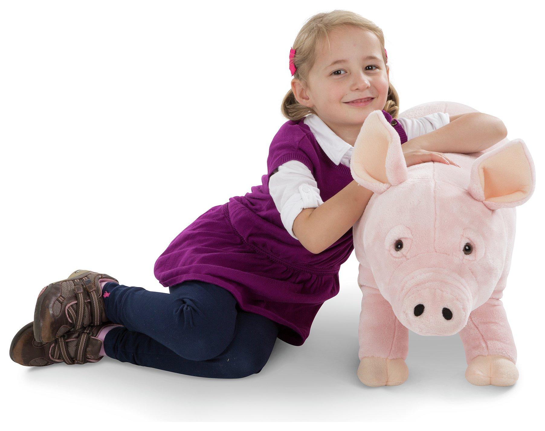 Melissa & doug Pig Soft Toy review