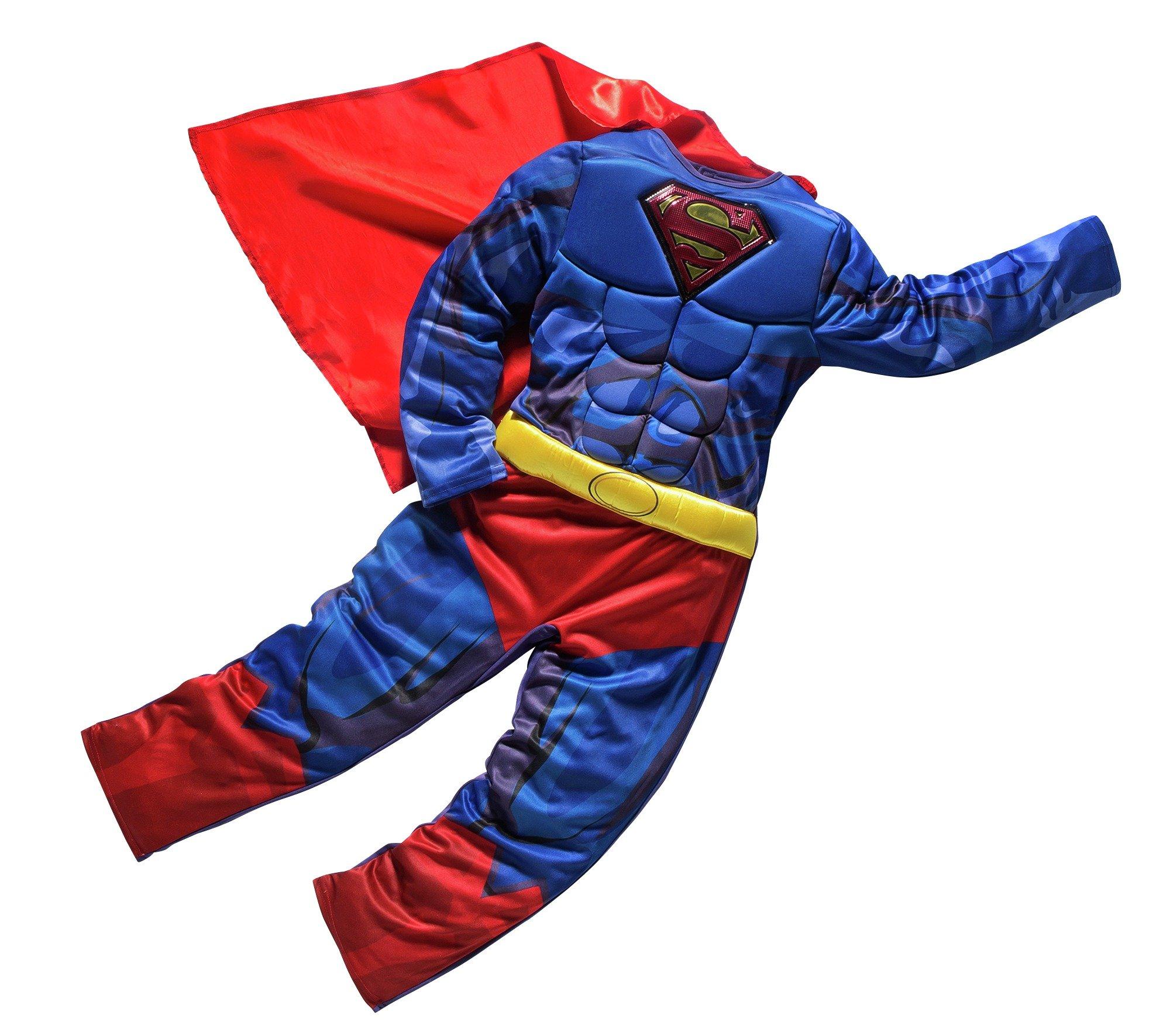DC Superman Children's Fancy Dress Costume - 7-8 Years