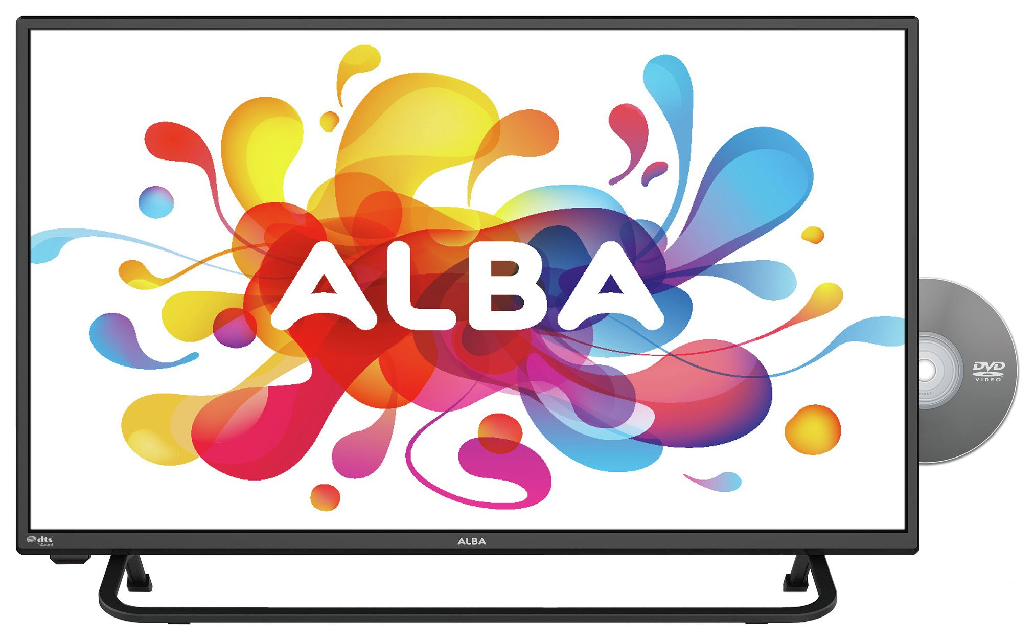 Image of Alba 28 Inch HD Ready Freeview HD TV/DVD Combi - Black