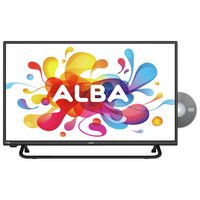 Alba 28'' 720p HD Ready Black LED TV with Built-In DVD
