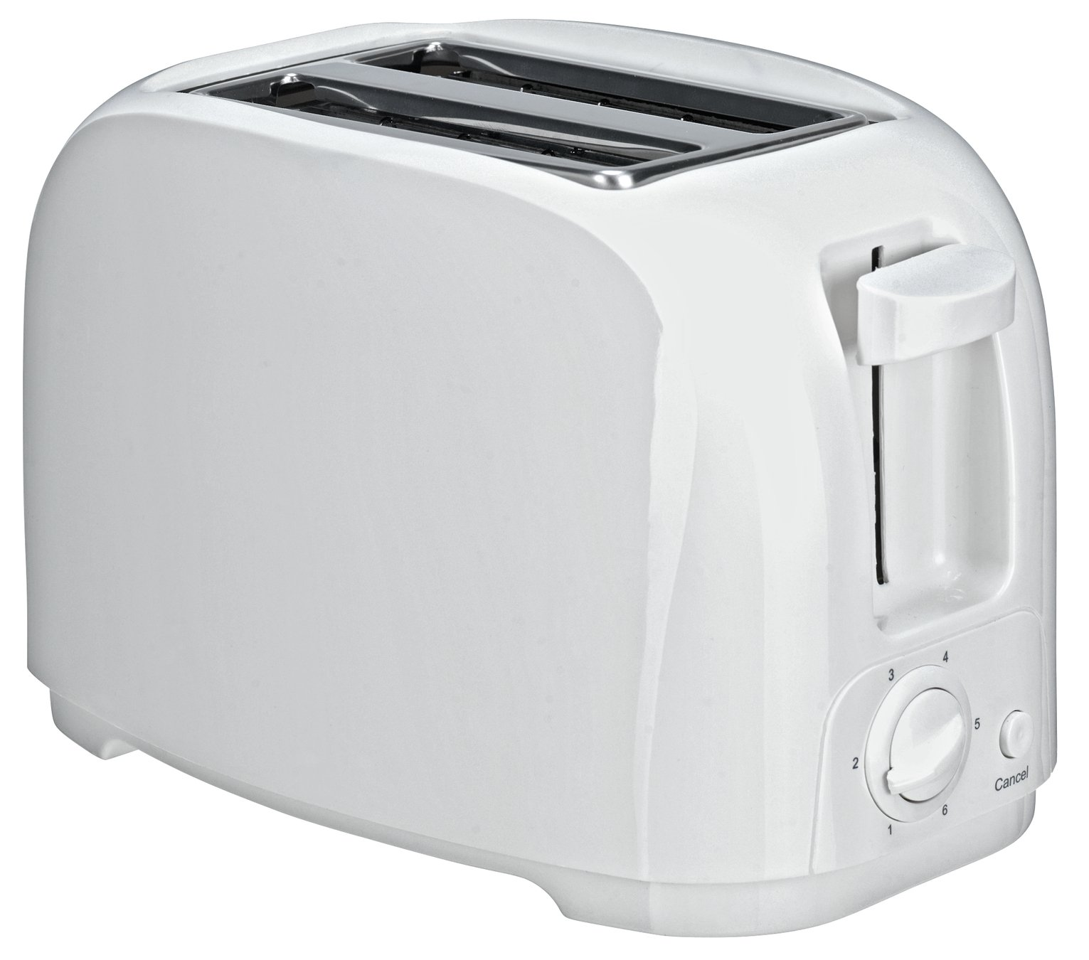 Image of Simple Value 2 Slice Toaster - White