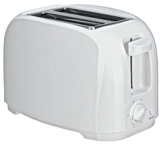 buy simple value 2 slice toaster white toasters argos
