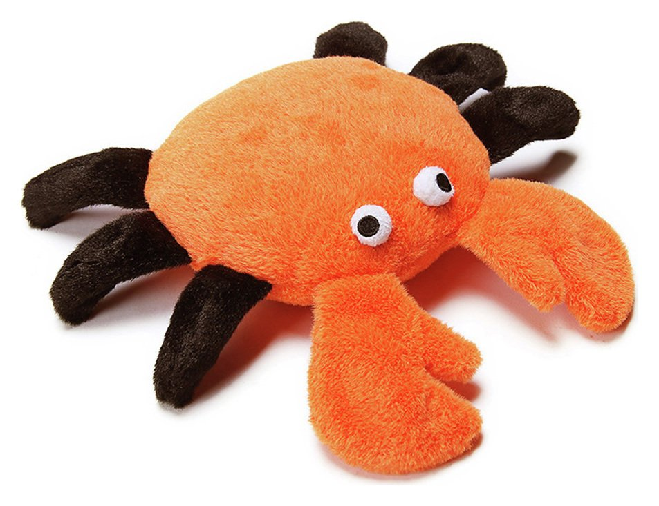 Petface Seriously Strong Super Plush & Rubber Crab