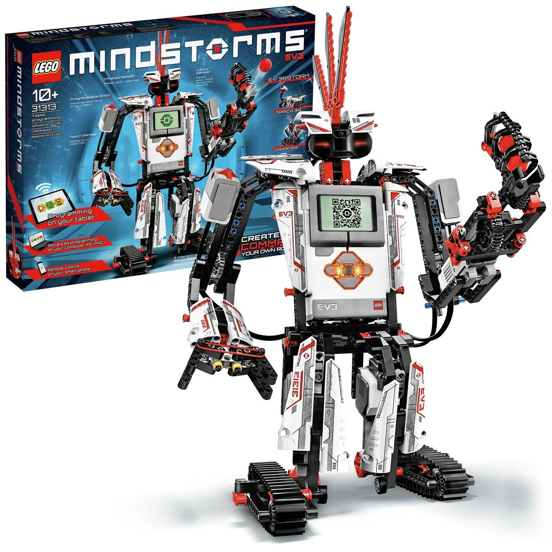 Image of LEGO MINDSTORMS EV3 Toy Robot Building Kit - 31313