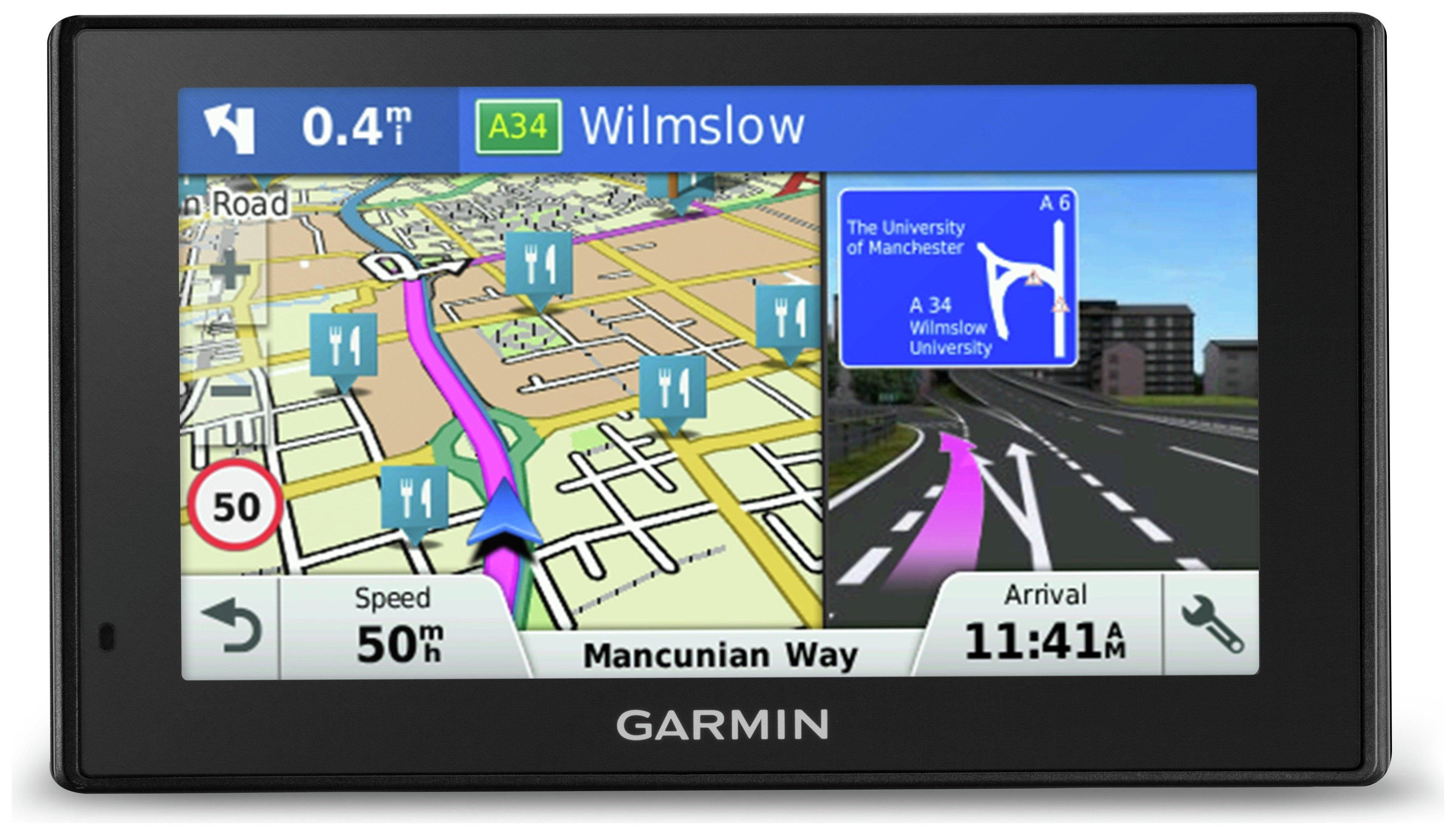 Image of Garmin DriveSmart 50LM 5 Inch Sat Nav with EU Maps & Traffic