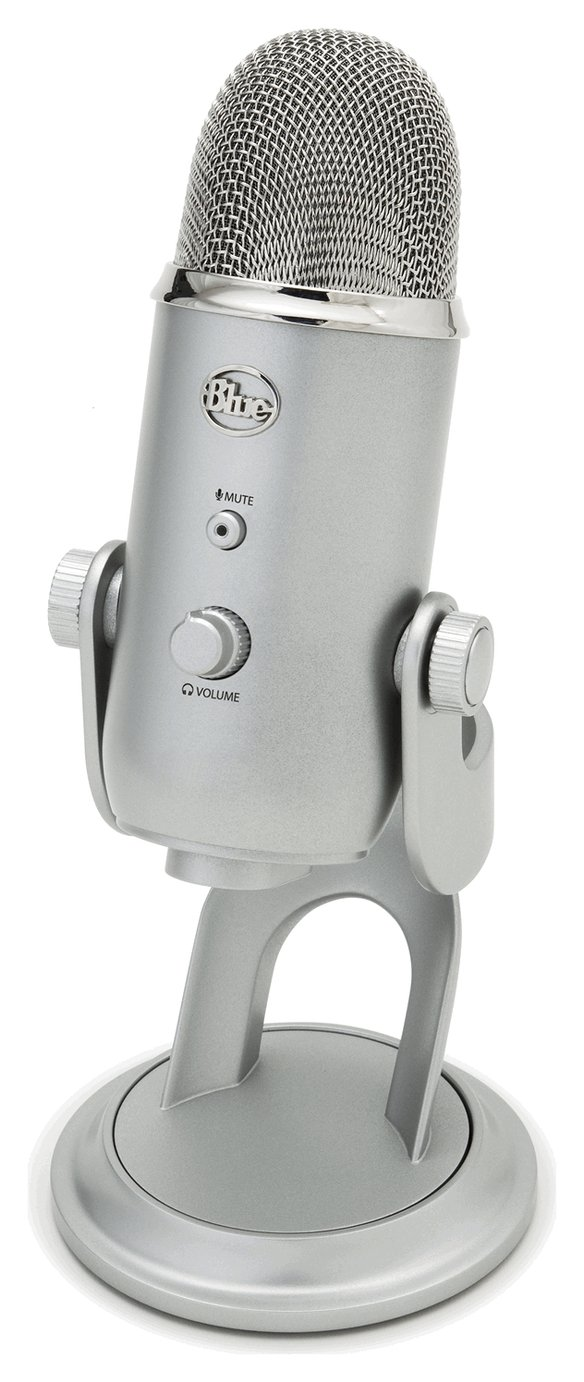 Image of Blue Microphones Yeti USB Microphone - Silver.