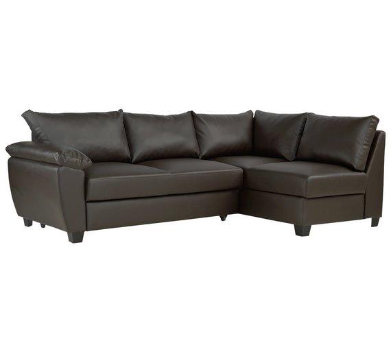 leather corner sofa bed argos. Black Bedroom Furniture Sets. Home Design Ideas