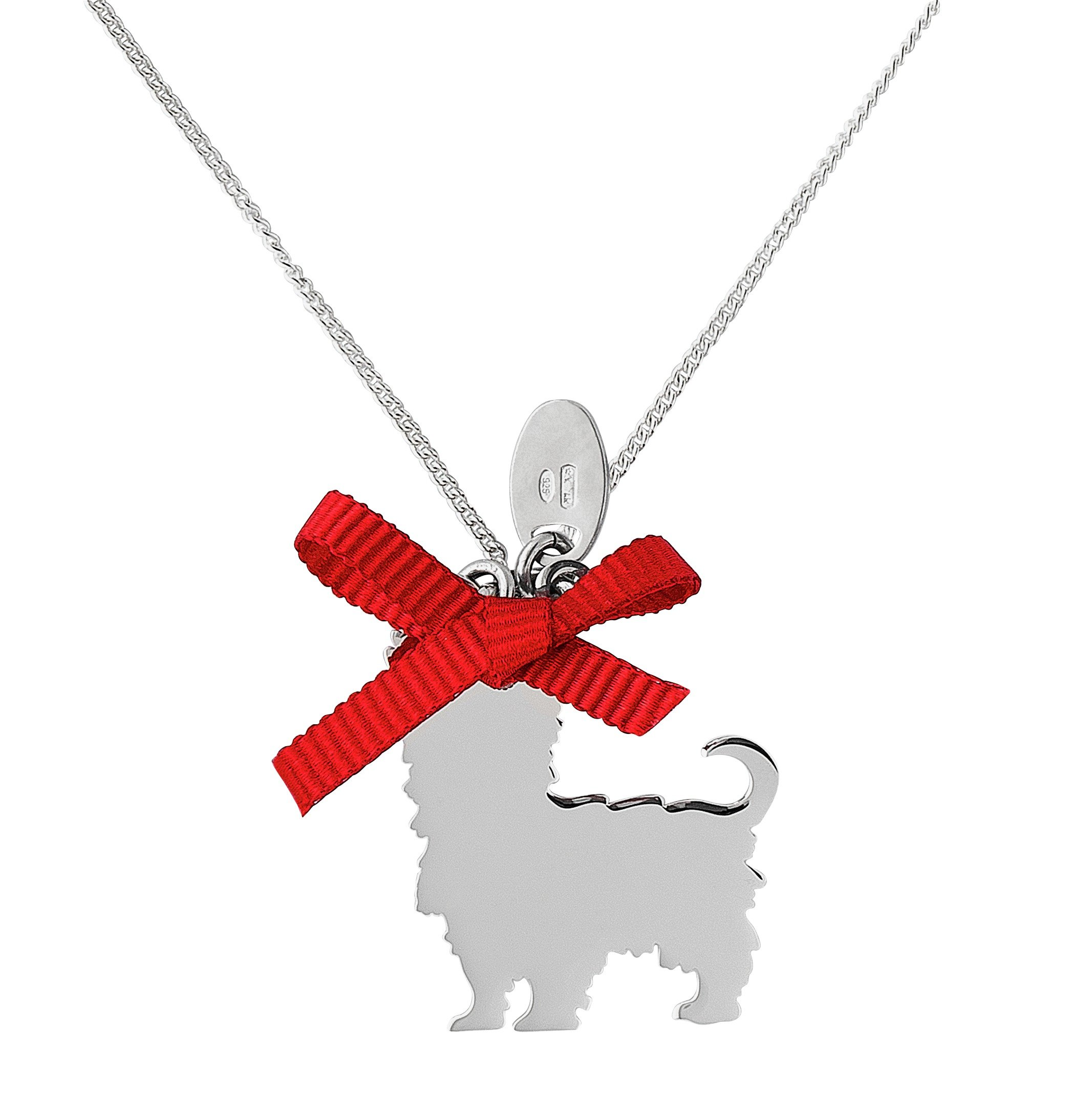 Image of Revere Sterling Silver Doggy Pendant