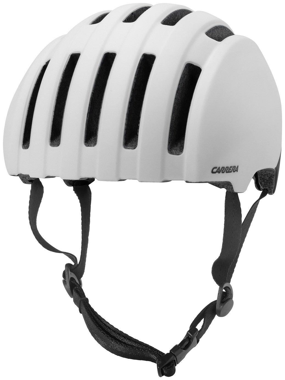 Image of Carrera Precinct Helmet - Shiny White - 55-58cm