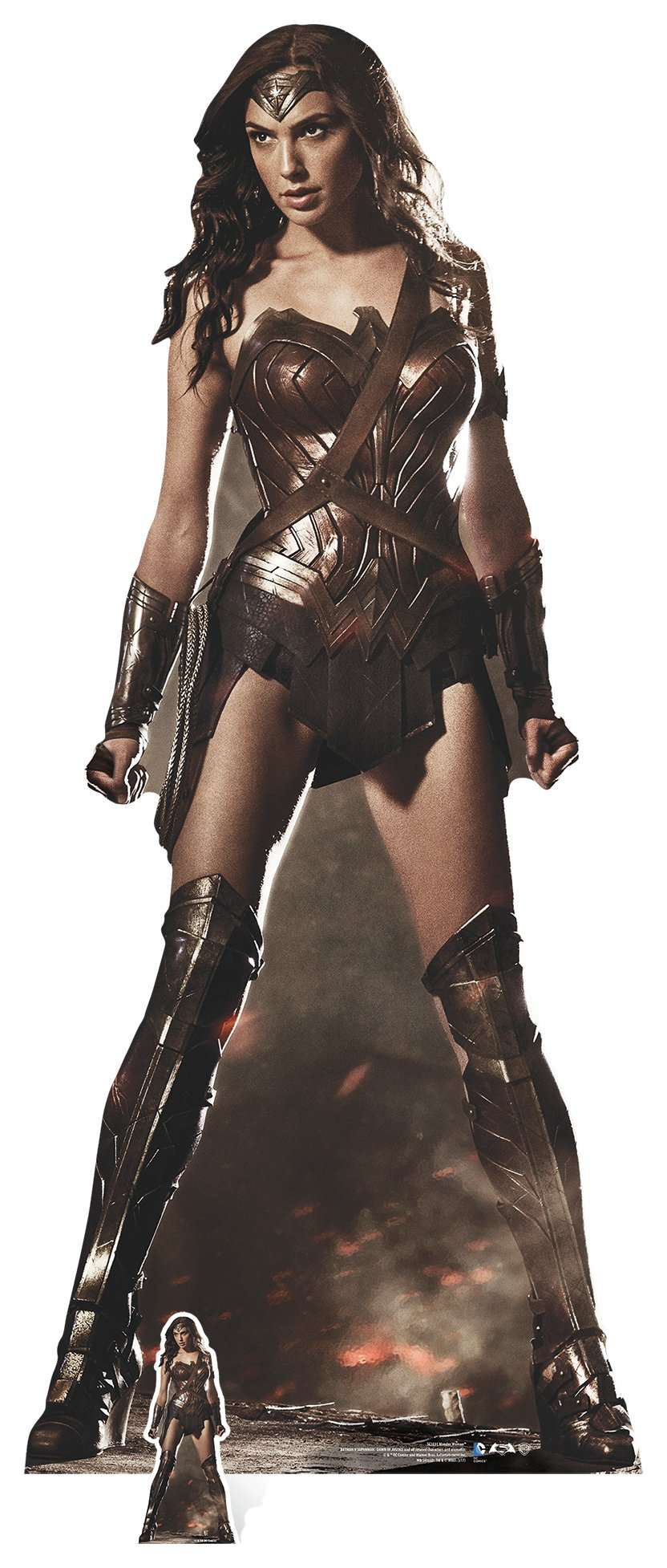 Image of DC Comics Star Cutouts Wonder Woman Party Cardboard Cutout