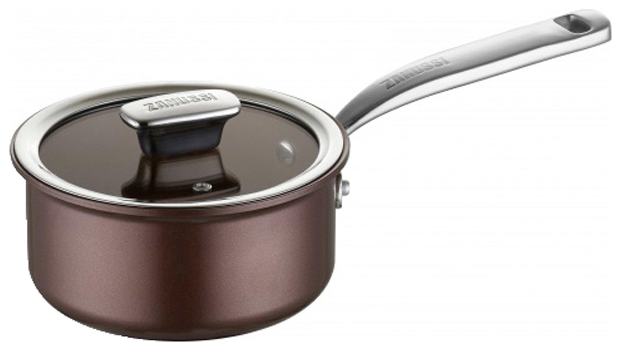 Zanussi Siena 20cm Aluminium Saucepan with Lid