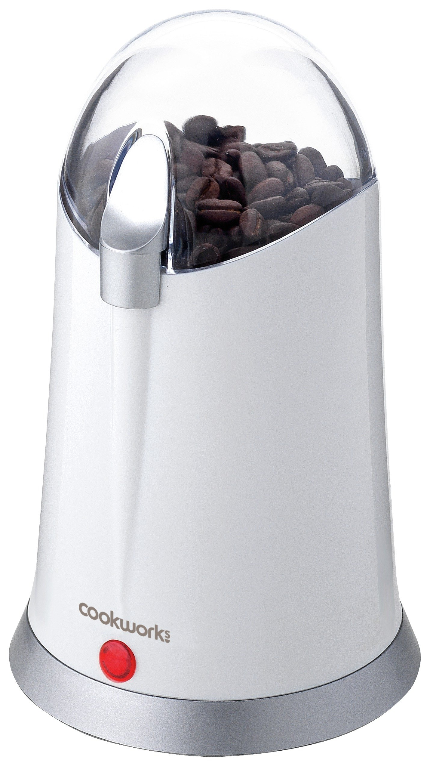 Cookworks Coffee and Herb Grinder - White