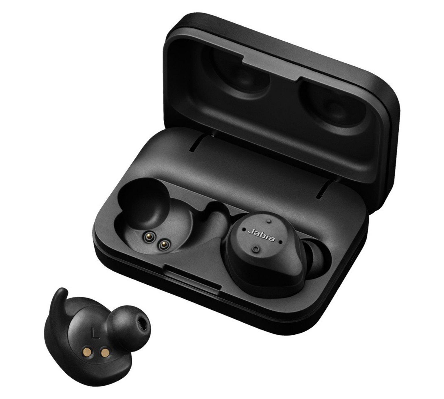 Jabra Elite Sport True Wireless In - Ear Headphones - Black
