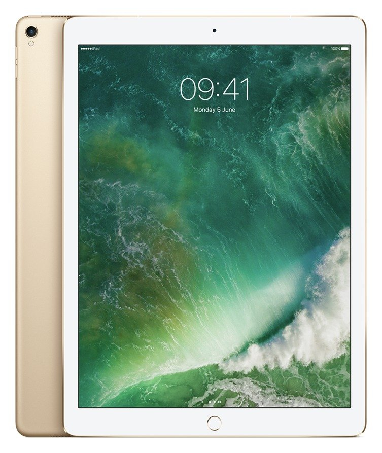 Apple iPad Pro 12.9 Inch Wi-Fi Cellular 256GB - Gold cheapest retail price