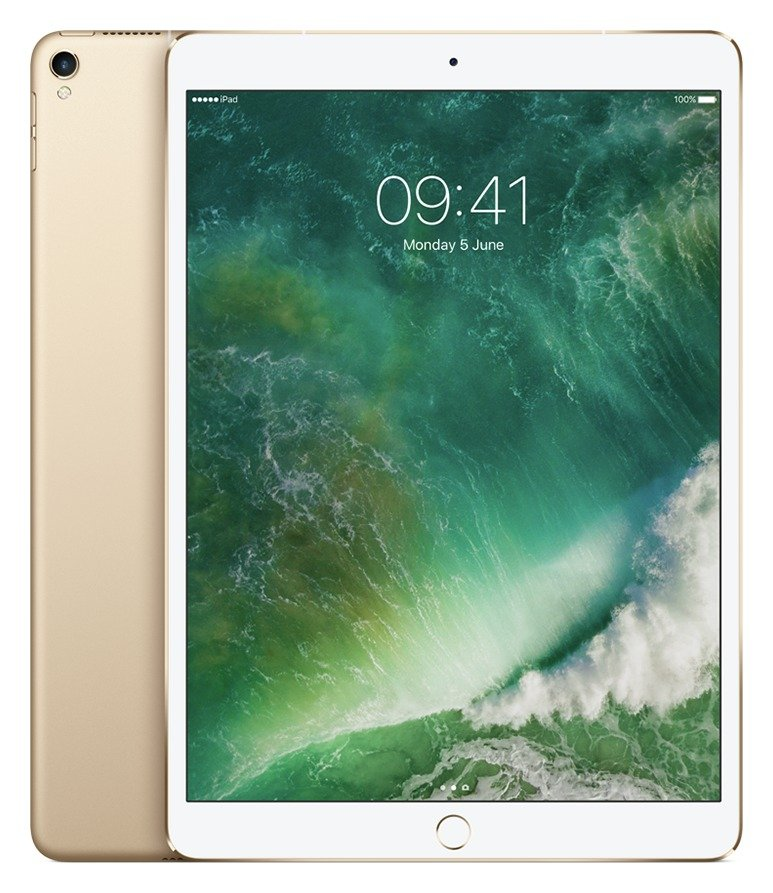Apple iPad Pro 10.5 Inch Wi-Fi Cellular 256GB - Gold