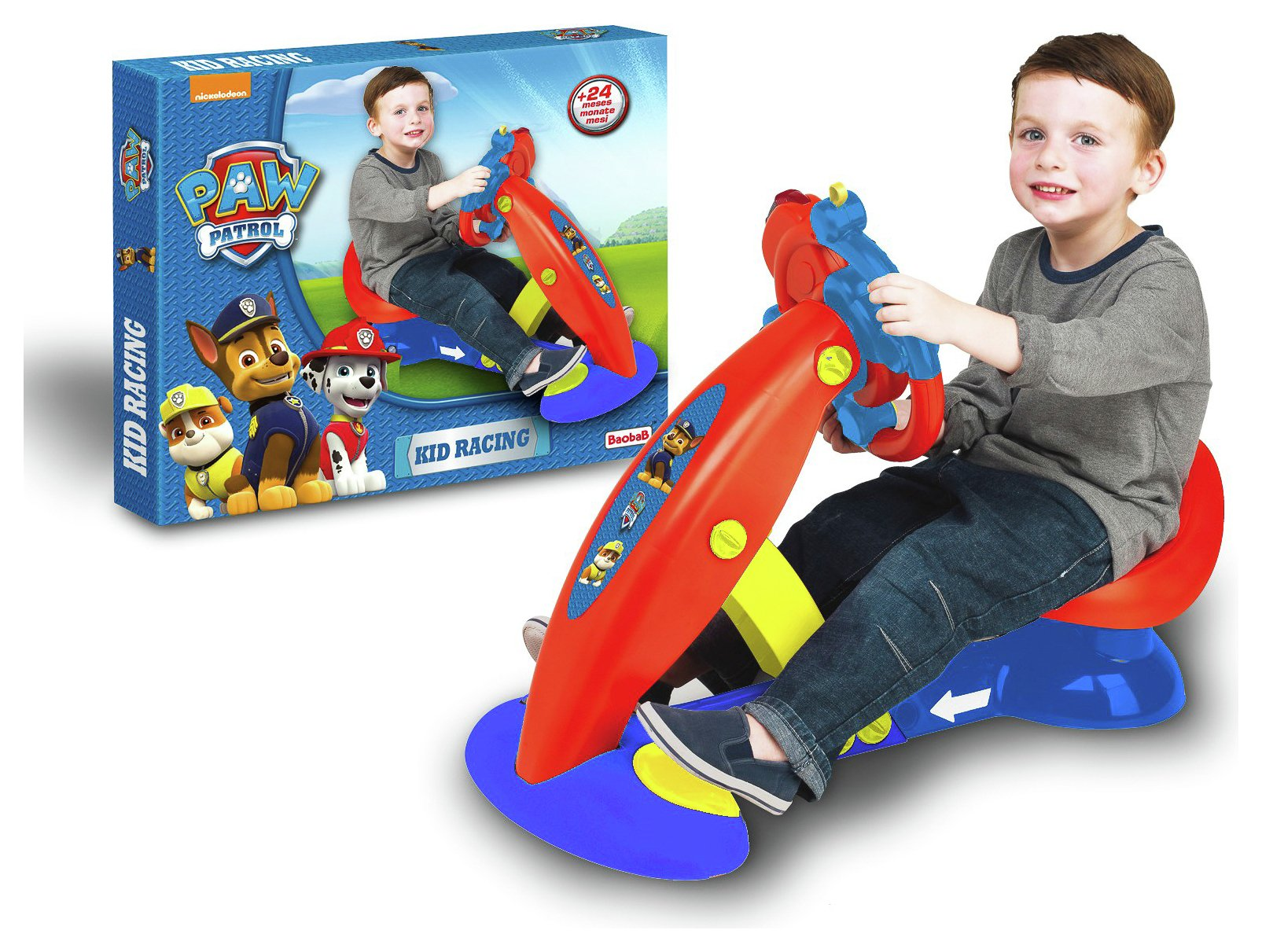 Image of PAW Patrol Driving Simulator Vehicle.