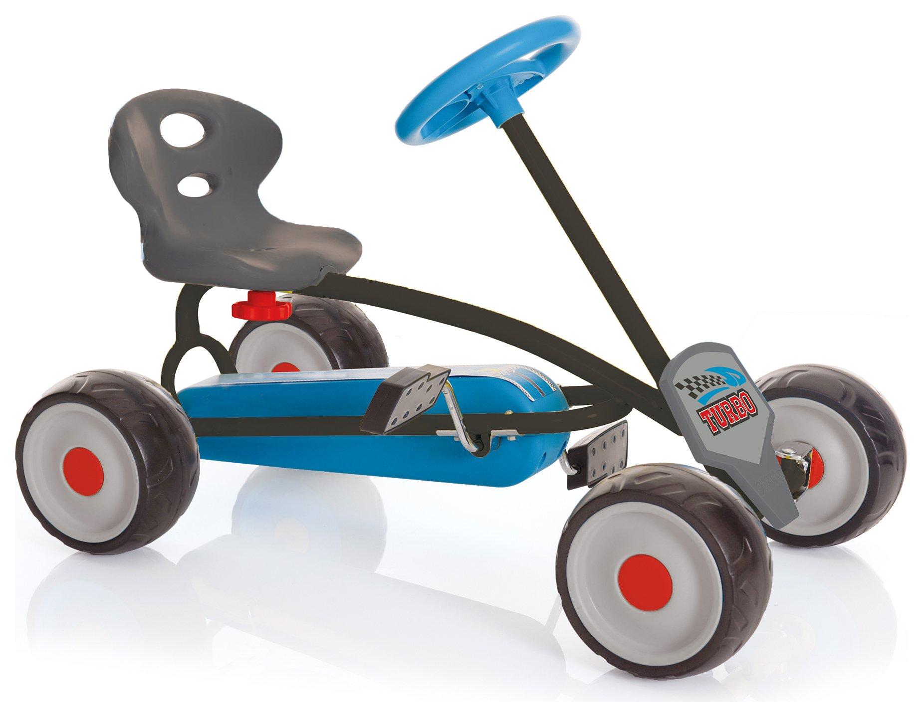 sale on hauck turbo mini go kart blue hauck now. Black Bedroom Furniture Sets. Home Design Ideas