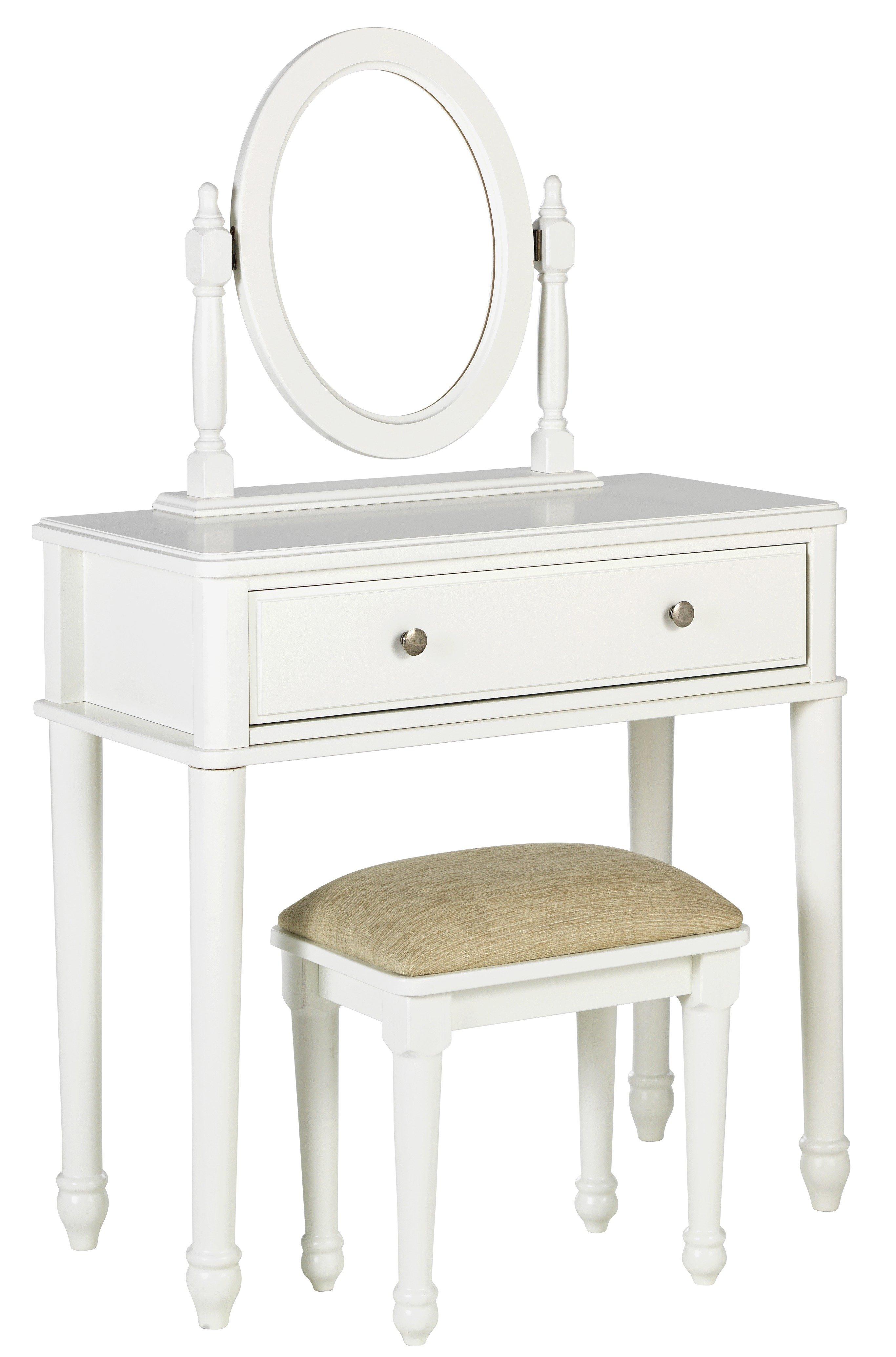 Argos Home Ashbourne Dressing Table - Soft White