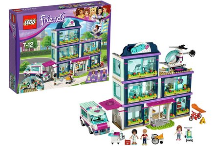 LEGO Friends Heatlake Hospital - 41318.